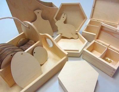 💞Мир творчества  Скрапбукинг. Квиллинг. Декупаж...  — Заготовки из дерева — Хобби и творчество