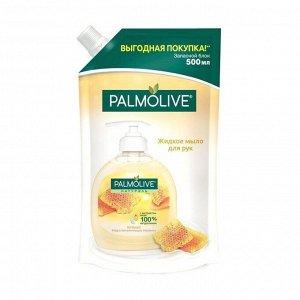 Жидкое мыло питание (мягкая упаковка),palmolive, 500мл