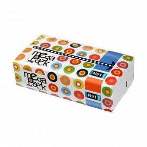 Платочки бумажные универсальные двухслойные bella №1 mega pack, 150шт