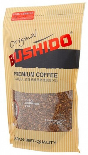 Кофе Bushido Original субл. м/у 75г 1/12, шт