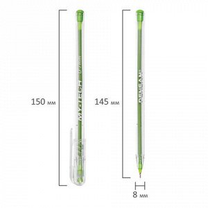 "Ручка шариковая масляная PENSAN ""My-Tech Colored"", палитра ярких цветов АССОРТИ, 0,7 мм, дисплей, 2240, 2240/S60R-8"