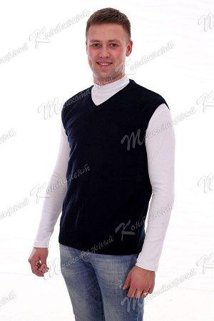Мужской жилет черный