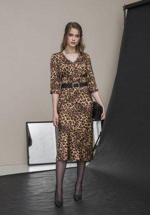 Платье Платье Galean Style 774  Состав ткани: ПЭ-100%;  Рост: 164 см.  Длина изделия/рукав: 116/43
