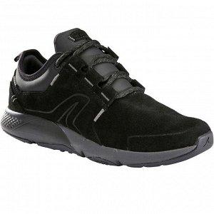 Кроссовки кожаные для ходьбы женские Actiwalk Comfort Leather черные