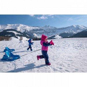 Шапка для катания на лыжах/санках для малышей