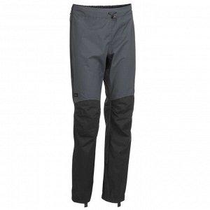 Верхние брюки для треккинга в горах водонепроницаемые мужские TREK 500