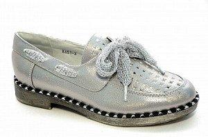 Туфли НА51-3 серебро