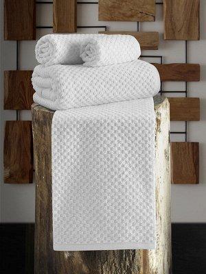 Полотенце махровое  с жаккардом dama 50x90 см