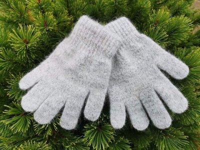 Уютные носочки и варежки из 100% шерсти — Перчатки женские — Вязаные перчатки