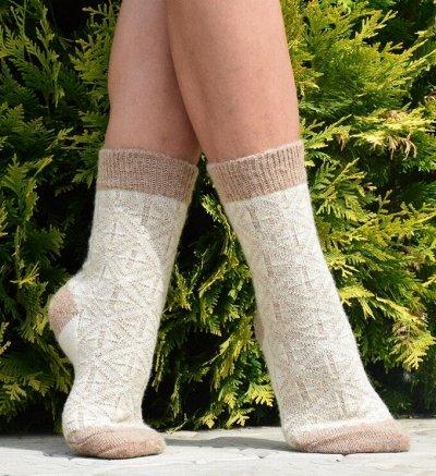 Уютные носочки и варежки из 100% шерсти — Женские тонкие носки и следки — Носки