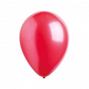 """Шар латексный 5"""", водяные бомбочки, металлик, набор 100 шт., цвет красный"""