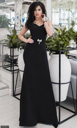 Платье 438326-4 черный Весна-Лето Украина