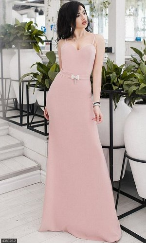 Платье 438326-2 пудра Весна-Лето Украина