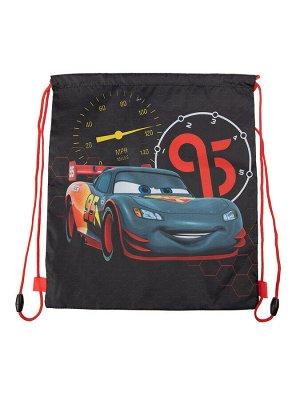 Сумка-мешок текстильная для мальчиков темно-серый,красный
