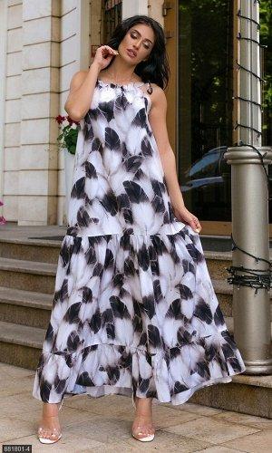 Платье 881801-4 черный Лето Украина