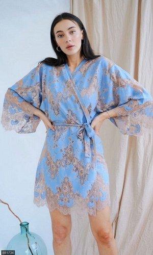 Платье 881734 голубой Лето Украина