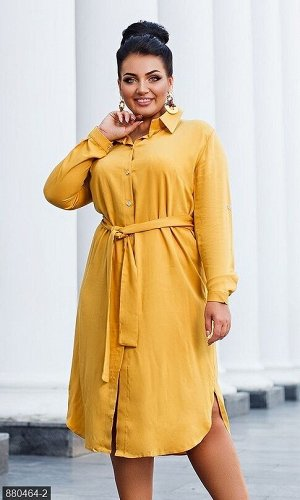 Платье 880464-2 желтый Лето Украина