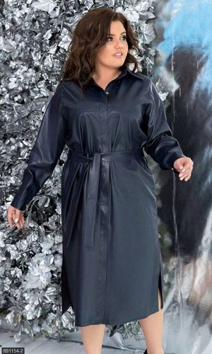 Платье 881154-2 синий Зима-Весна 2020 Украина