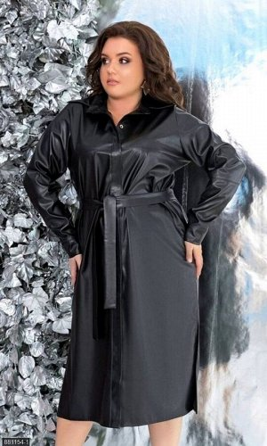 Платье 881154-1 черный Зима-Весна 2020 Украина
