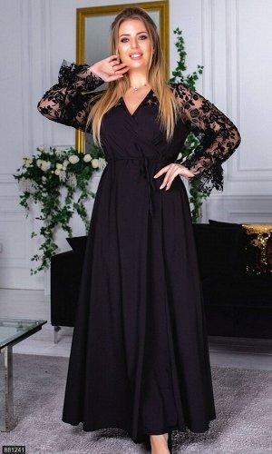 Платье 881241 черный Зима-Весна Украина