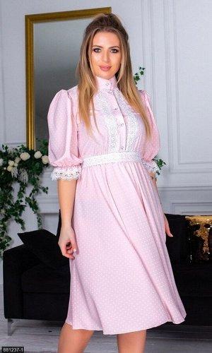 Платье 881237-1 розовый Зима-Весна Украина