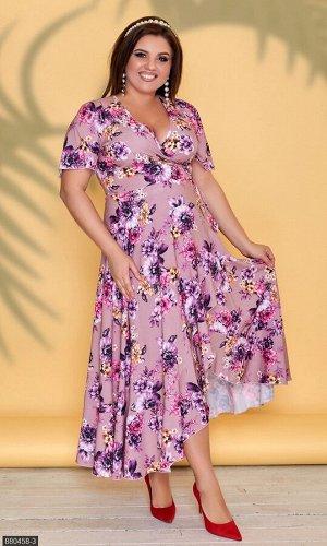 Платье 880458-3 розовый Лето Украина