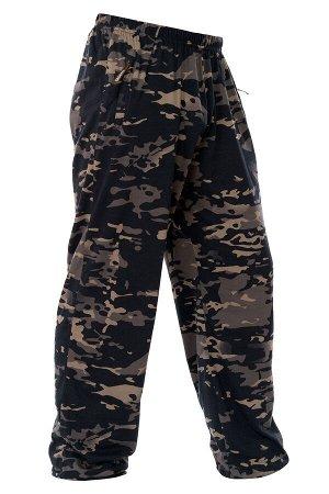Летние Трикотажные брюки 'мультикам тёмный'