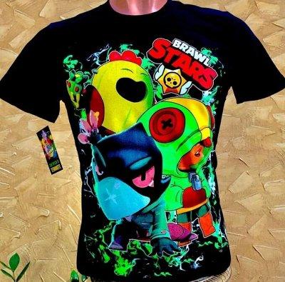 Крутяшные футболки Brawl stars и не только! Россия. Цена 🔥