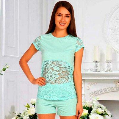 21. DRESS-Яркий трикотаж от 42 до 70 размера! Новинки! — Пижамы — Сорочки и пижамы