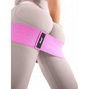 Фитнес-резинка (тканевая) FitRule (Розовый 41 кг)