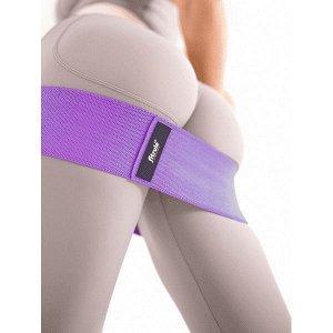 Фитнес-резинка (тканевая) FitRule (Фиолетовый 68 кг)