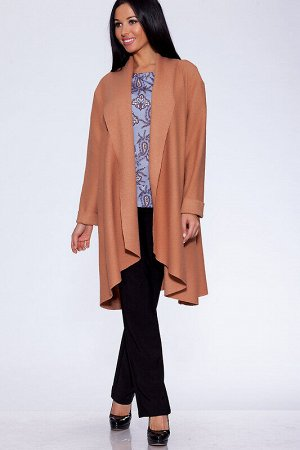 Пальто Ткань: Вареная шерсть;  Состав: Шерсть 80%, Вискоза 20%;  Сезон: Осень, Зима, Весна;  Цвет: Бежевый;