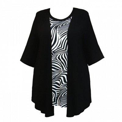 18 - Белье Diaton - Для роскошных форм. одежда — Блузы и туники — Кофты и кардиганы