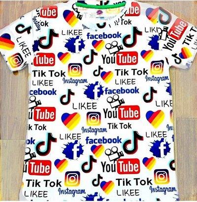 🍉МУЛЬТИ🍎ДЕТСКИЙ ПРИСТРОЙ! Любимые бренды в наличии!   — Светящиеся футболки Блогеры и соцсети.  — Футболки