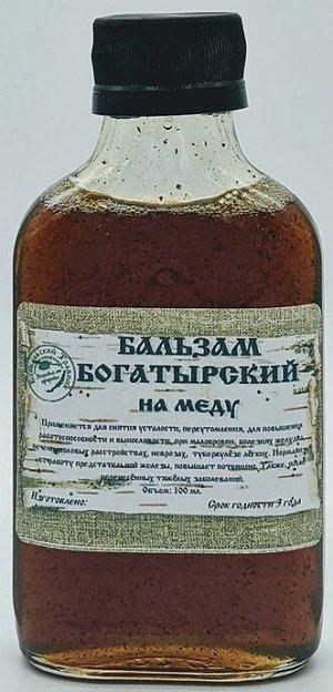 """БОГАТЫРСКИЙ"" на меду  (для мужчин)"