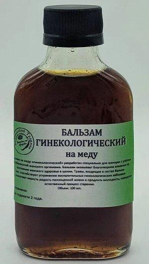 """""""ГИНЕКОЛОГИЧЕСКИЙ"""" на меду"""