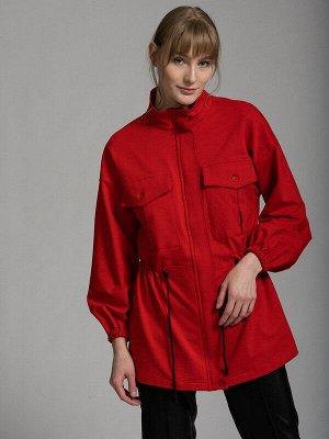 Куртка Состав: Хлопок 92%, Эластан 8%;  Сезон: Весна, Лето;  Цвет: Красный