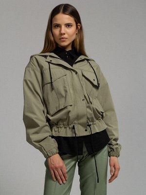 Куртка Состав: Хлопок 100%;  Сезон: Весна, Лето;  Цвет: Хаки
