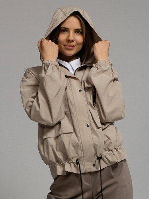 Куртка Состав: Хлопок 100%;  Сезон: Осень, Весна;  Цвет: Бежевый