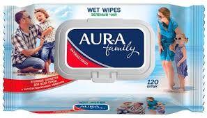Влажные салфетки для всей семьи с антибактериальным эффектом в ассортименте  Family