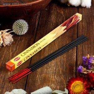 """Благовония """"HEM Cinnamon"""" (Корица), четырехгранник, 8 палочек"""