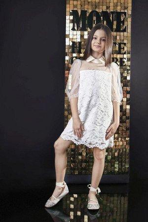 Платье бархатные кружева, атлас, еврофатин жемчуг