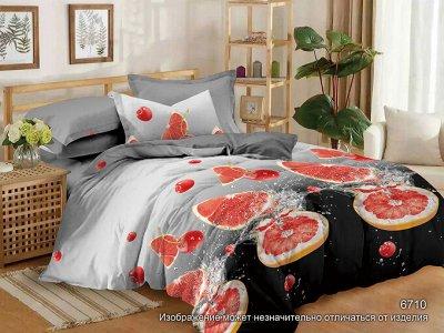 ™ВИКТОРИЯ - постельное белье от 706 руб, текстиль, трикотаж — КПБ Мако-Сатин 3D — Постельное белье
