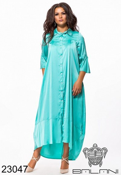 BALANI осень 2020.Женская одежда. — платья PLUS SIZE — Платья