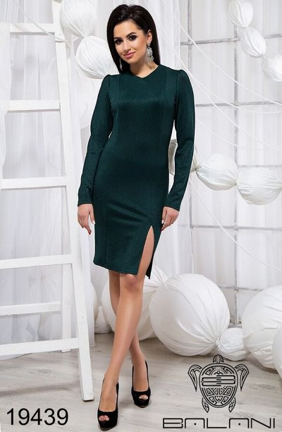 BALANI осень 2020.Женская одежда. — Платья. Футляр — Повседневные платья