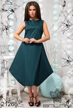 Стильное платье с углами - 21266