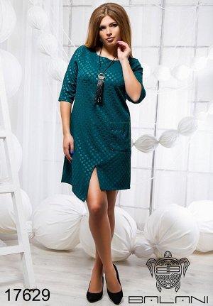 Элегантное платье с карманом - 17629