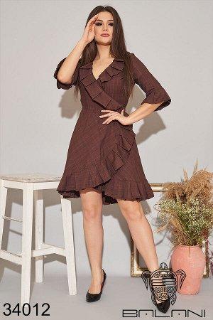 Платье на запах-34012