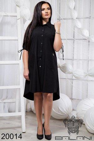 Стильное платье свобного кроя - 20014