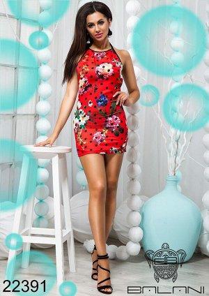 Платье с открытой спиной - 22391